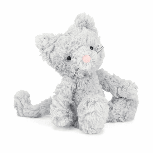 Small Squiggle Kitty  - Doodlebug's Children's Boutique