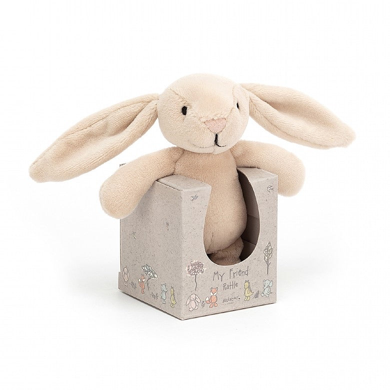 My Friend Bunny Rattle  - Doodlebug's Children's Boutique