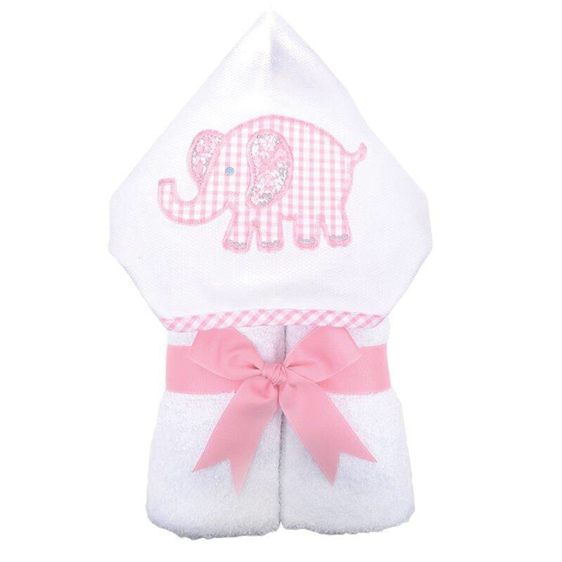 3 Marthas Everykid Hooded Towel with Appliqué