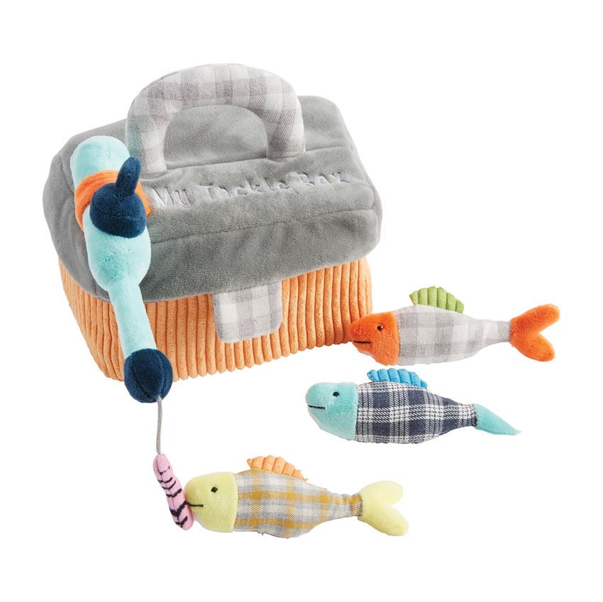 My Tackle Box Plush Set  - Doodlebug's Children's Boutique