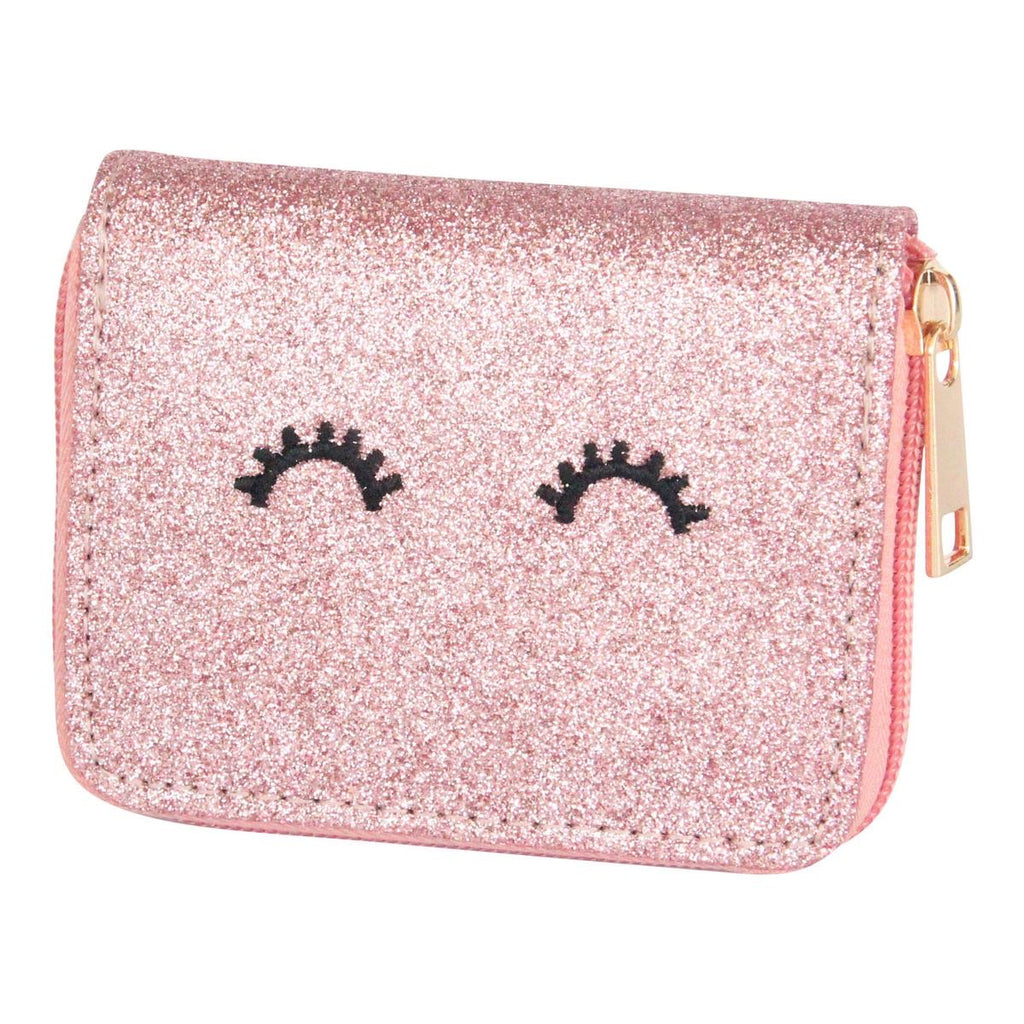 Rose Gold Glitter Wallet Rose Gold - Doodlebug's Children's Boutique