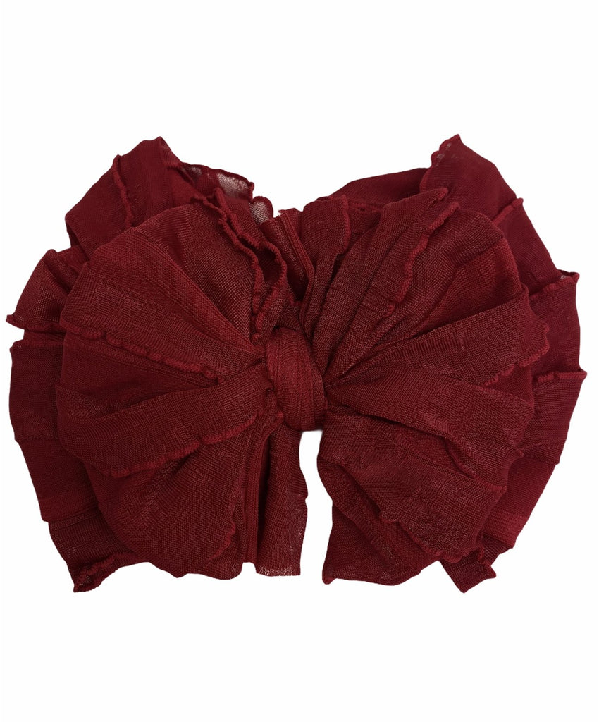 Deep Red Headband  - Doodlebug's Children's Boutique