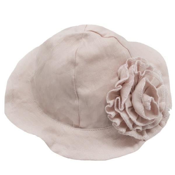 Linen Sun Hat  - Doodlebug's Children's Boutique