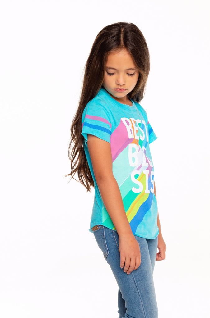 Best Big Sis Tee  - Doodlebug's Children's Boutique