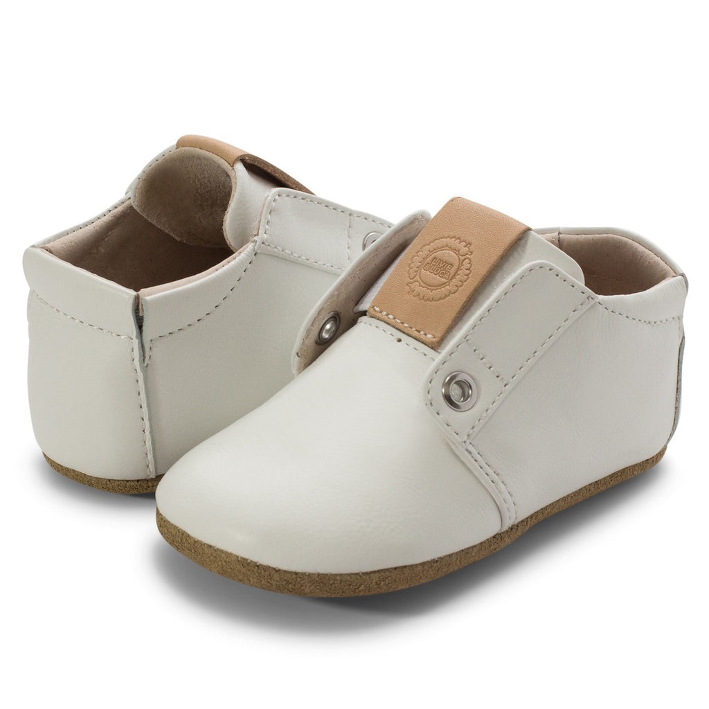 Mochi Bootie in Bright White  - Doodlebug's Children's Boutique