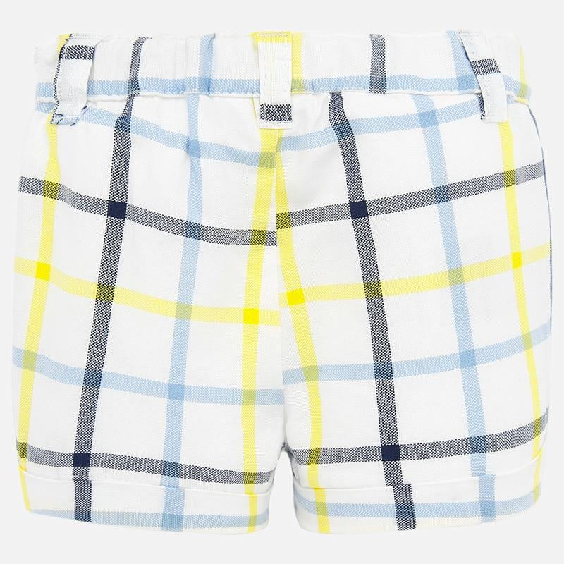 Pineapple Plaid Shorts  - Doodlebug's Children's Boutique