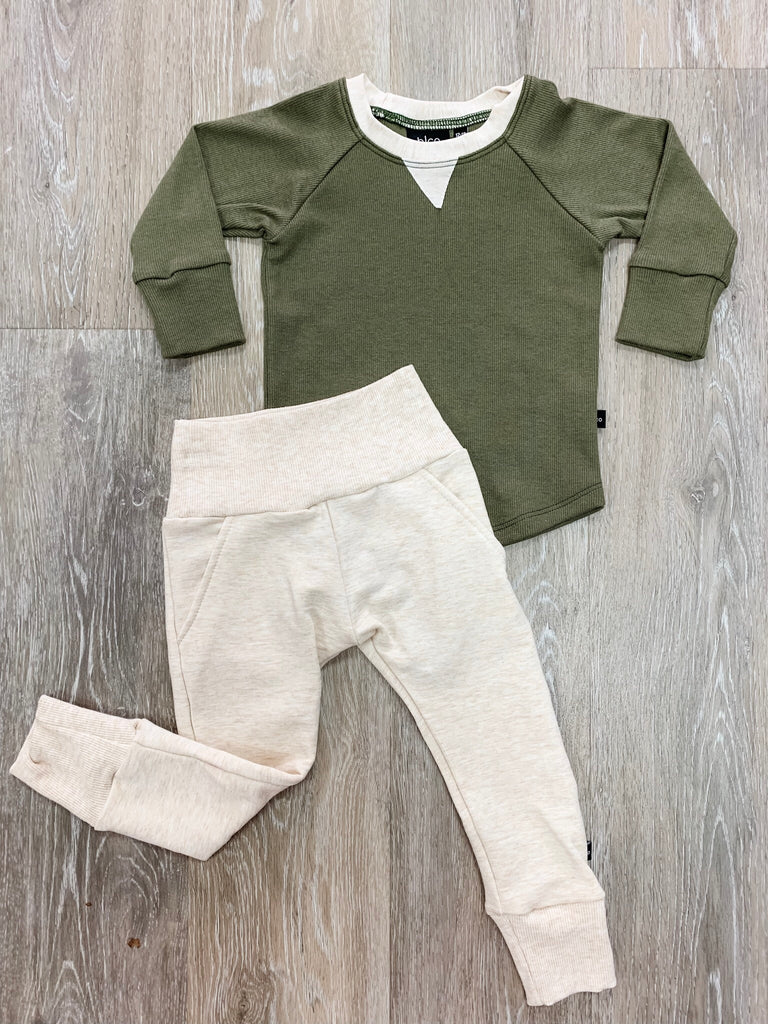 Baby Sprout Sweatpants Set