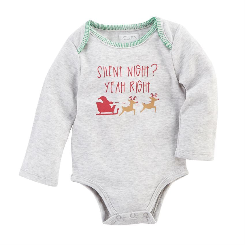 Silent Night Christmas Crawler Silent Night / 0-6 months - Doodlebug's Children's Boutique