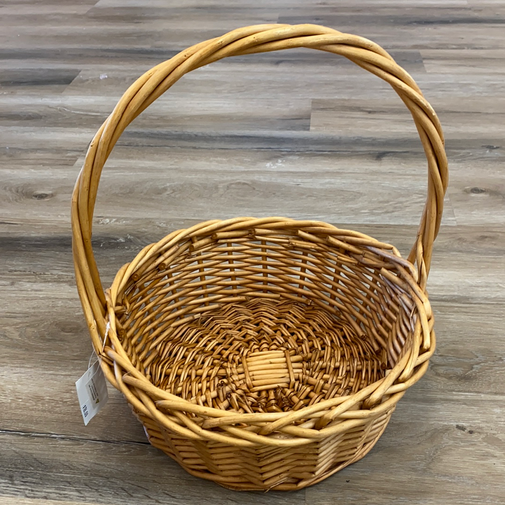 Medium Wicker Basket  - Doodlebug's Children's Boutique