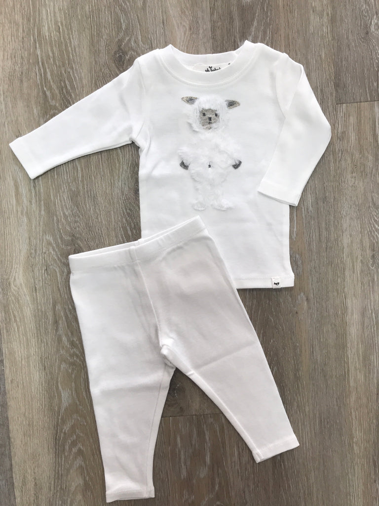 Ragdoll Lamb Top and Pant Set  - Doodlebug's Children's Boutique