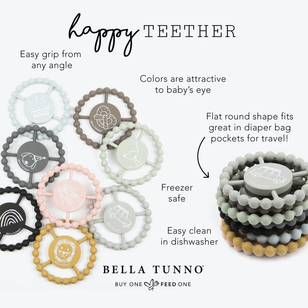 Queen Bee Happy Teether  - Doodlebug's Children's Boutique