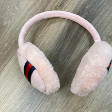 Ear Muffs in Pink