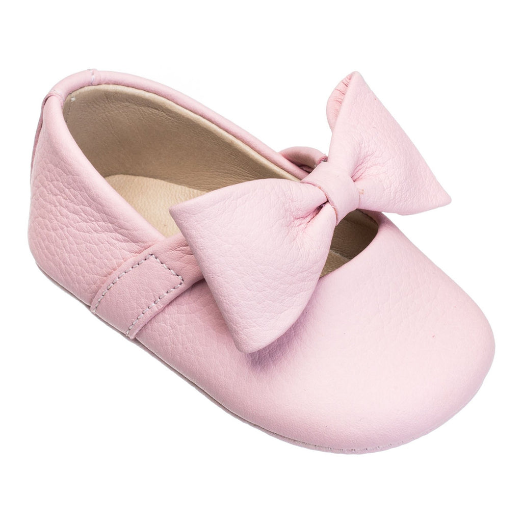 Baby Ballerina with Bow in Pink  - Doodlebug's Children's Boutique