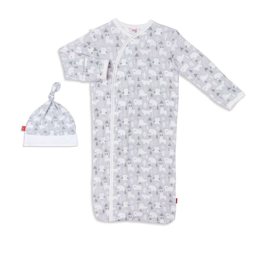 Magnetic Me Modal Sack Gown and Hat Set for Boys