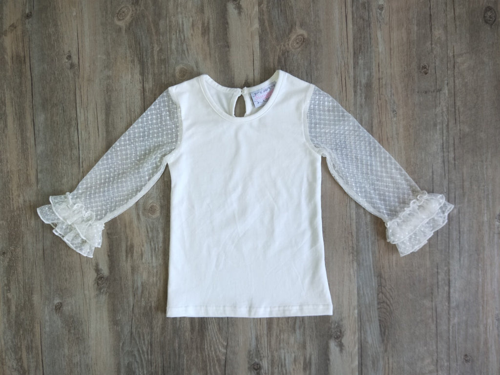Serendipity Mesh Sleeve Top