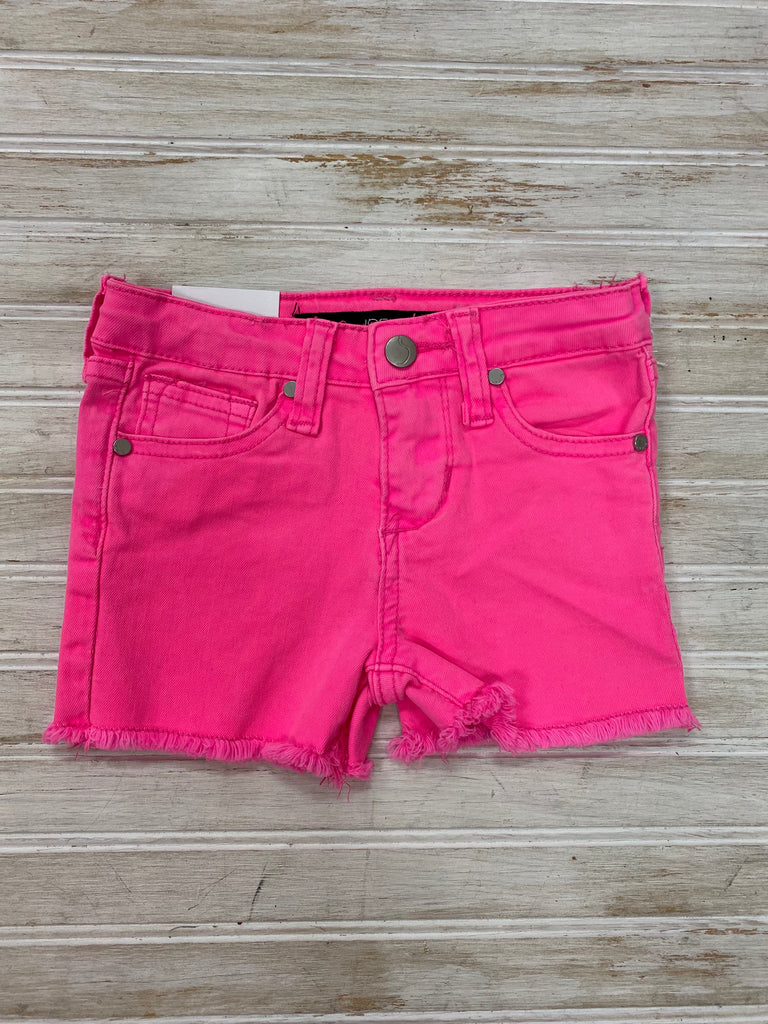 The Markie Short in Neon Pink  - Doodlebug's Children's Boutique