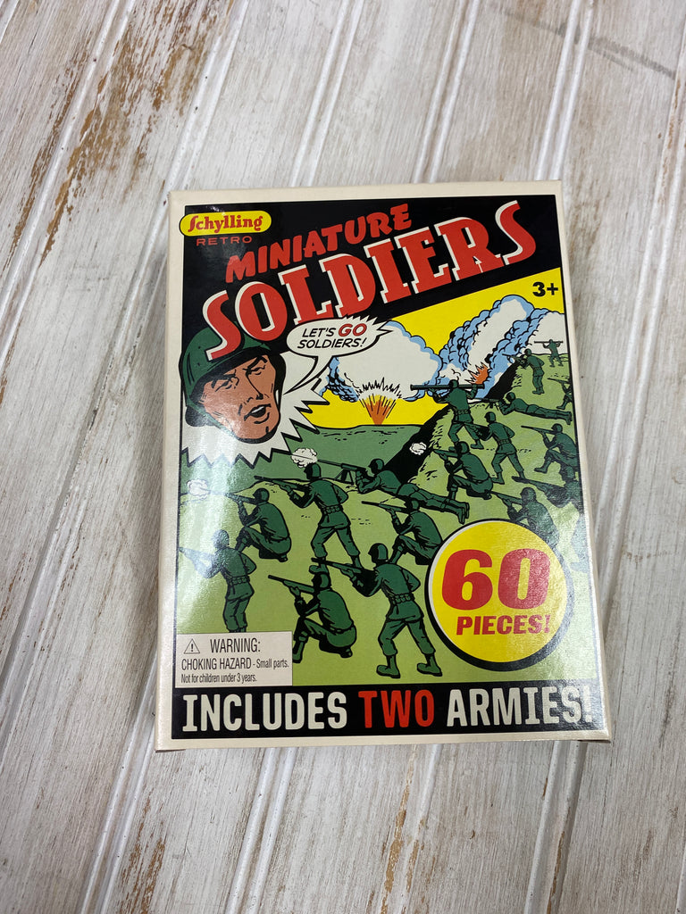 Retro Miniature Soldiers  - Doodlebug's Children's Boutique