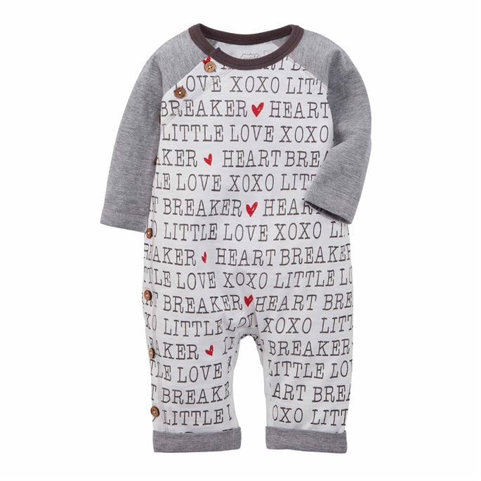 Heart Breaker Sleeper  - Doodlebug's Children's Boutique