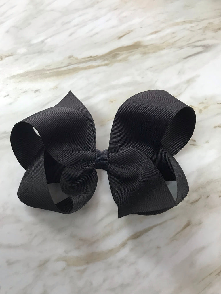 Bow Savvy Small Solid Hair Bow