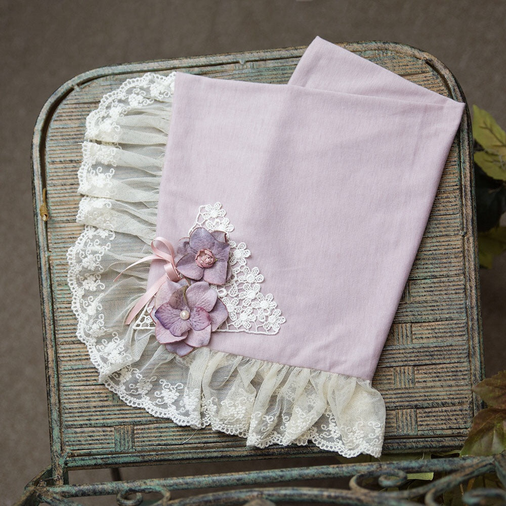 Frilly Frocks Anna Belle Blanket  - Doodlebug's Children's Boutique