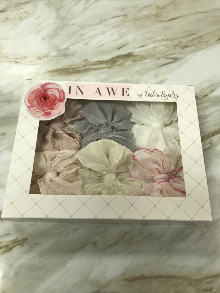 Neutral Clippie Box Set  - Doodlebug's Children's Boutique