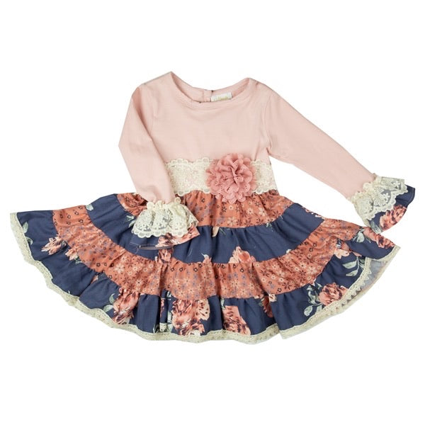 Dress in Secret Garden  - Doodlebug's Children's Boutique