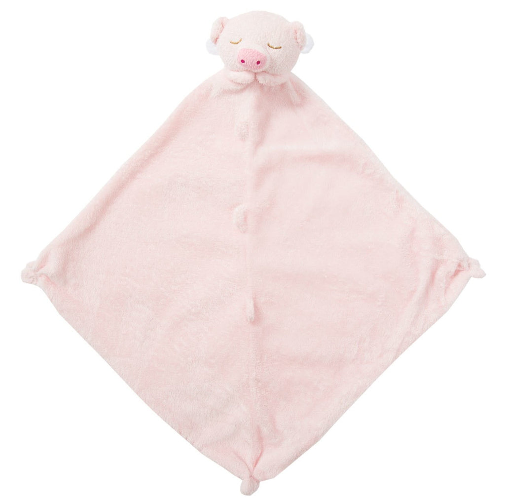 Pink Pig Lovie Blankie  - Doodlebug's Children's Boutique