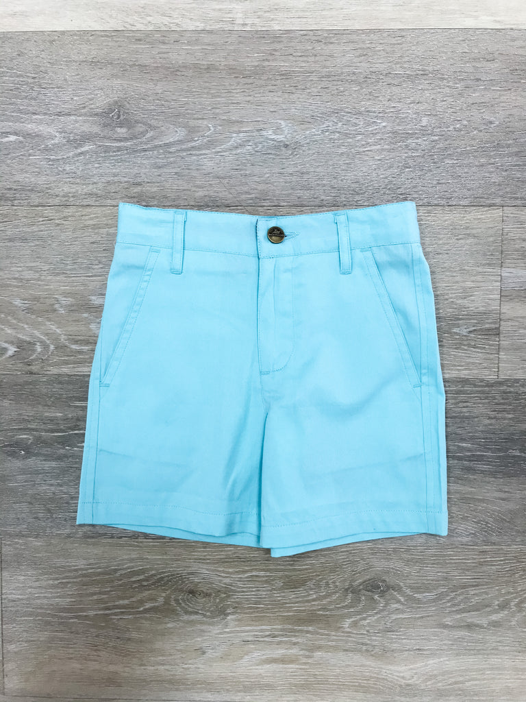 Island Paradise Point Clear Shorts  - Doodlebug's Children's Boutique