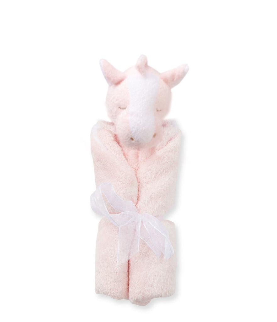 Pink Pony Lovie Blankie  - Doodlebug's Children's Boutique