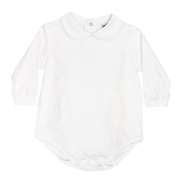 The Bailey Boys Peter Pan Collar Knit Onesie
