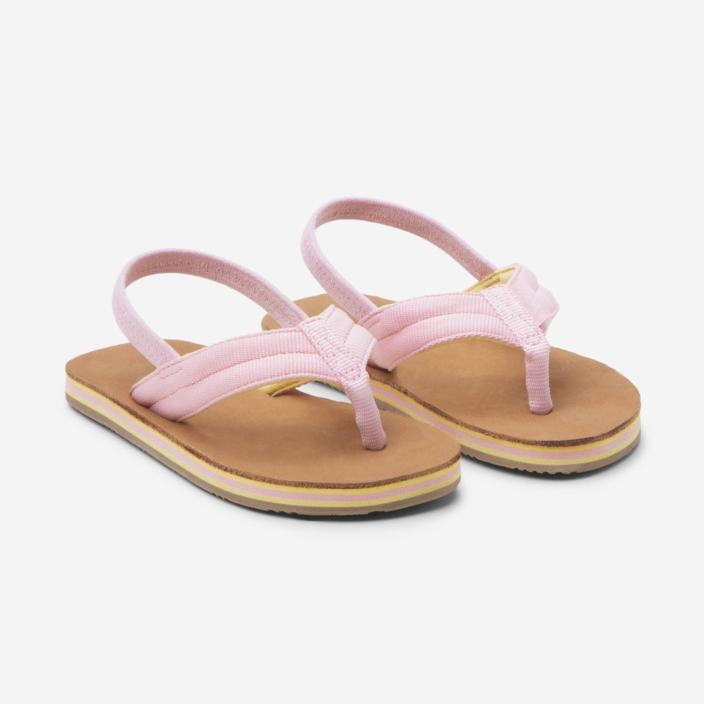 Girl Scouts Flip Flops in Light Pink and Tan  - Doodlebug's Children's Boutique