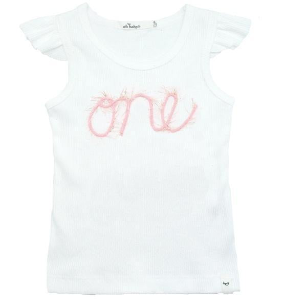 Oh Baby! One Birthday Tank  - Doodlebug's Children's Boutique