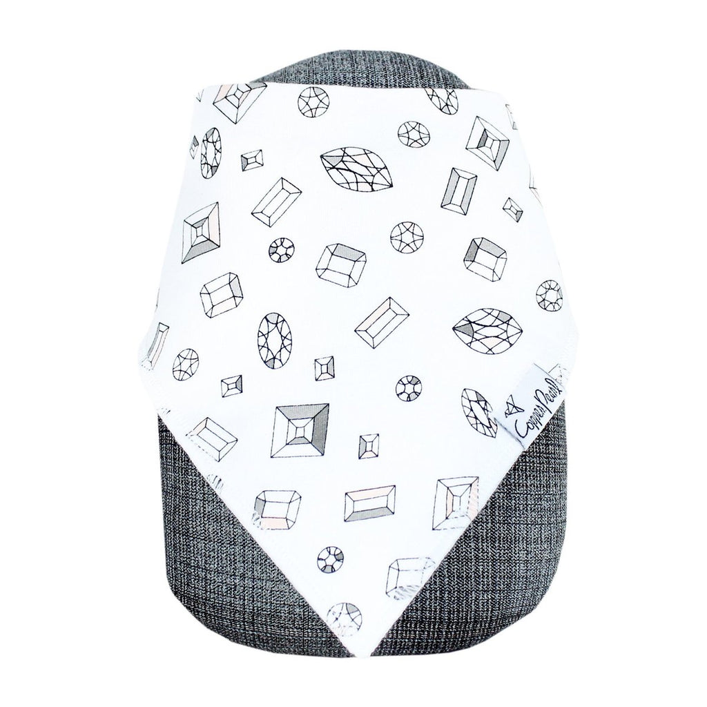 Two Pack Bandana Bibs in Paris  - Doodlebug's Children's Boutique