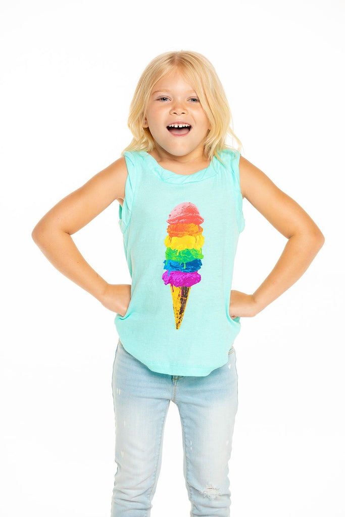 Every Scoop Tank  - Doodlebug's Children's Boutique