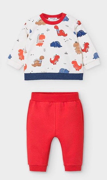 Dino Knit Set  - Doodlebug's Children's Boutique