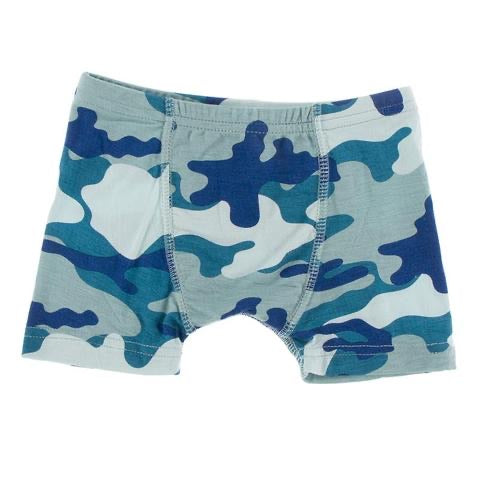 Boxer Brief in Oasis Military  - Doodlebug's Children's Boutique