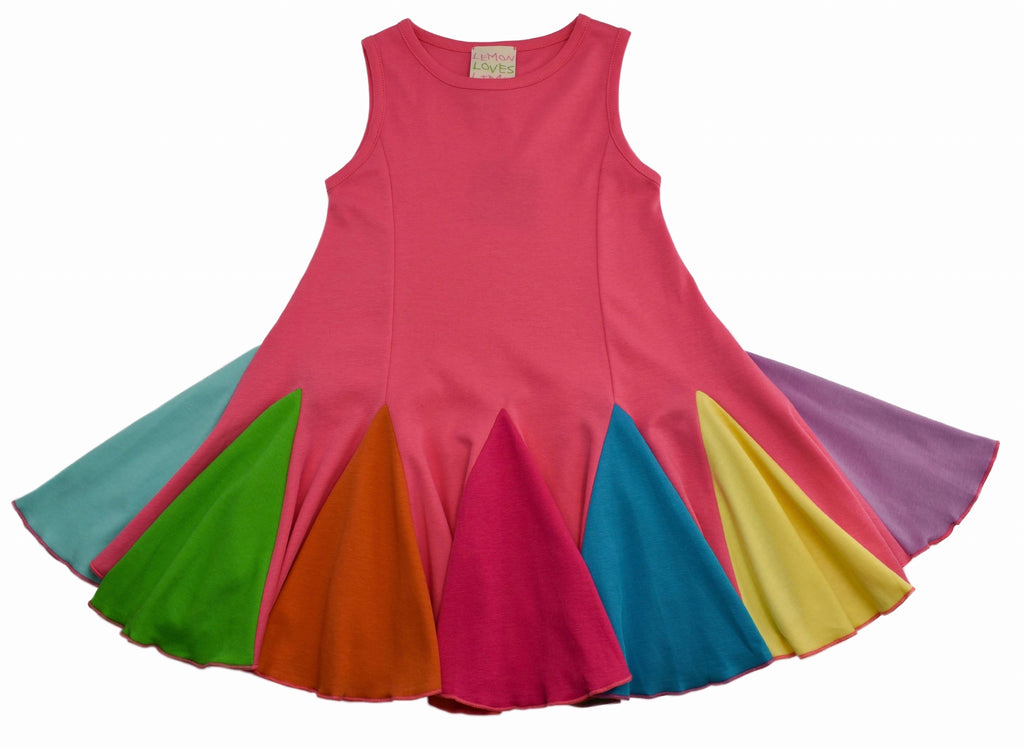 Carnival Swing Dress  - Doodlebug's Children's Boutique