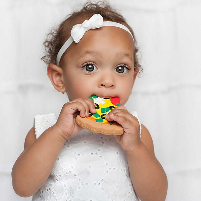 Pizza Teether  - Doodlebug's Children's Boutique