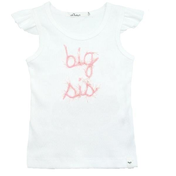 Big Sis Tank Big Sis / 2 - Doodlebug's Children's Boutique