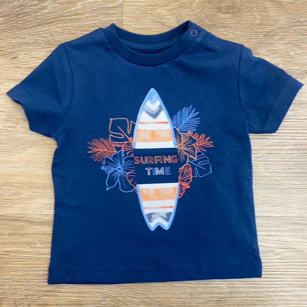 Surfing Time Shirt  - Doodlebug's Children's Boutique