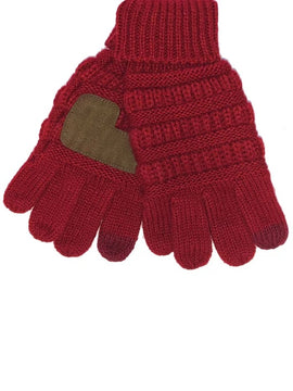 Kids Gloves in Red