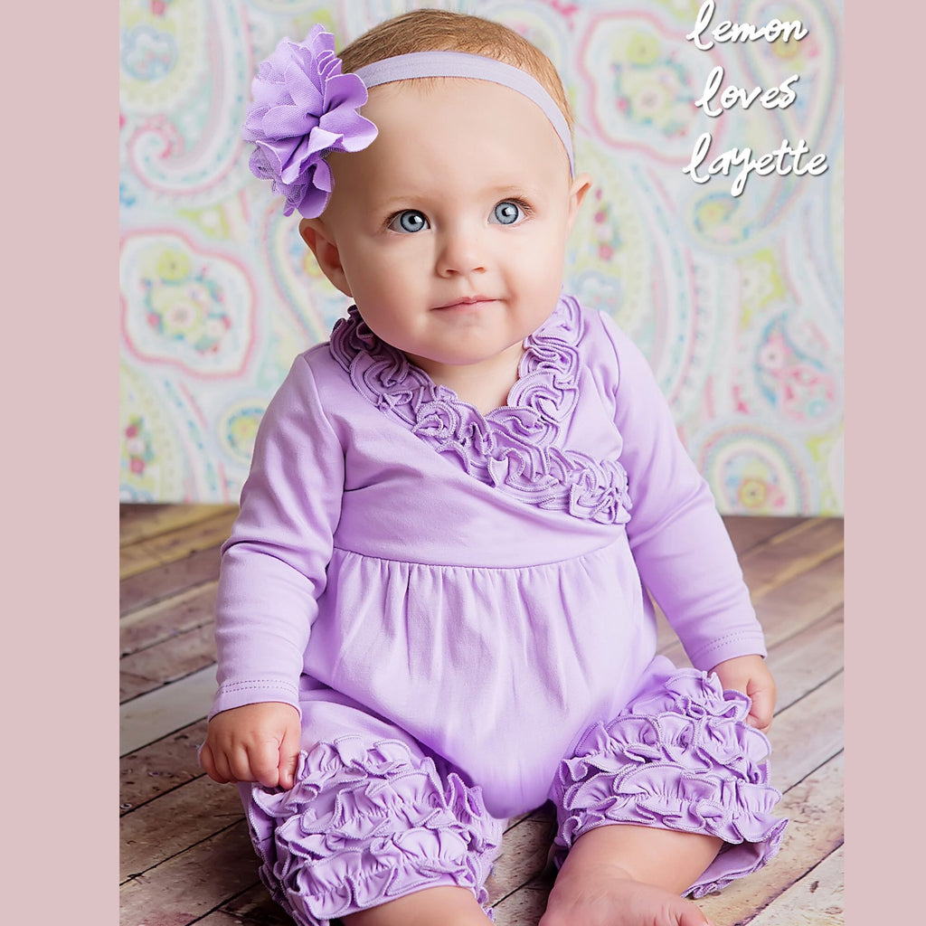 Lemon Loves Layette Olivia Romper