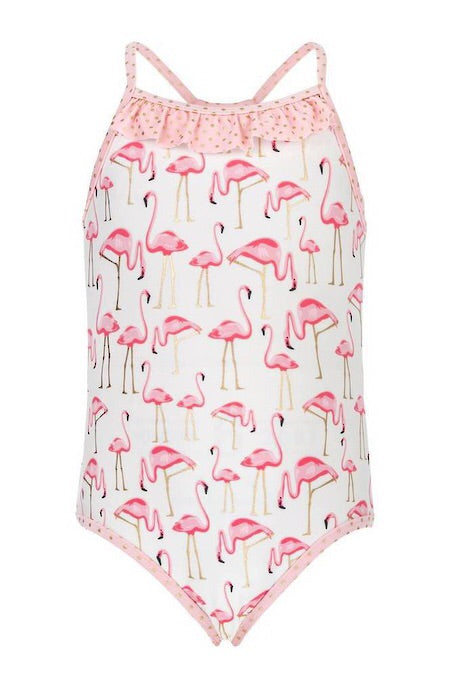 Snapperrock Flamingo Swimsuit