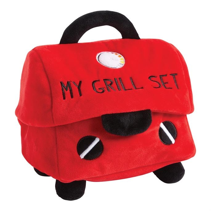 My Grill Plush Set  - Doodlebug's Children's Boutique