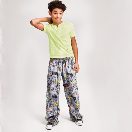 Gamer Plush Pants  - Doodlebug's Children's Boutique