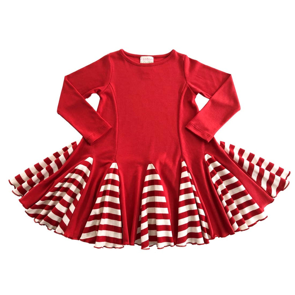 Peppermint Candy Dress  - Doodlebug's Children's Boutique