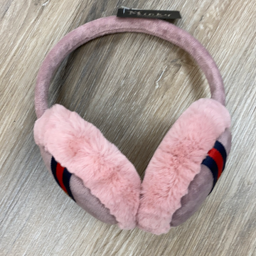 Ear Muffs in Mauve