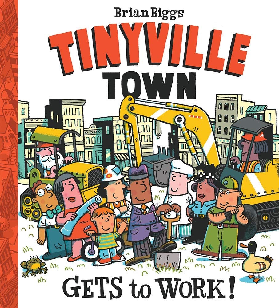 Tinyville Town Gets to Work Book  - Doodlebug's Children's Boutique