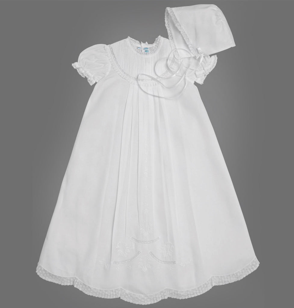 Pintucked Yoke Special Occasion Set for Girls  - Doodlebug's Children's Boutique