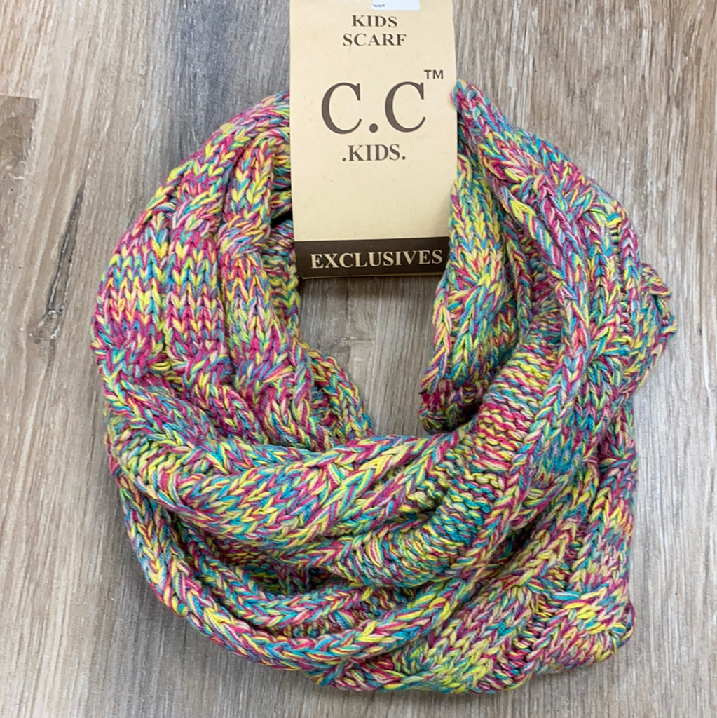 Kids Infinity Scarf in Multi  - Doodlebug's Children's Boutique